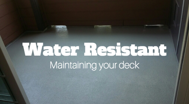 The Importance Of Waterproofing Your Home Deck