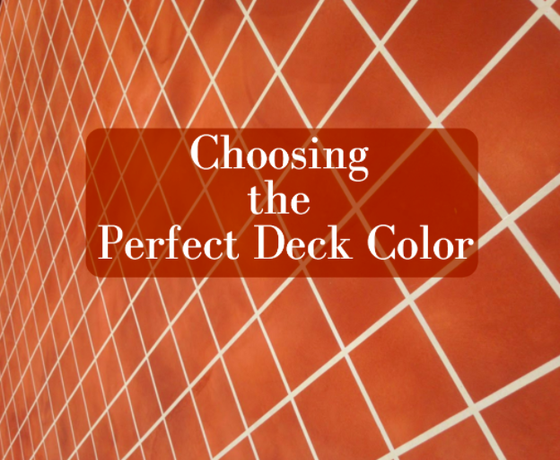 Choosing the Perfect Deck Color