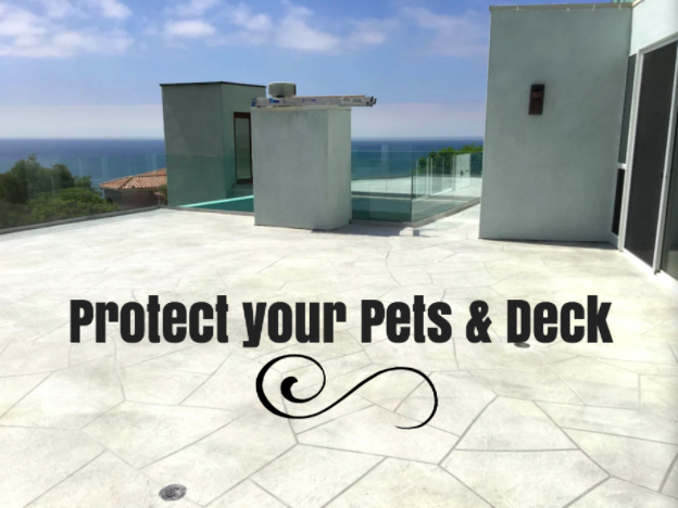 How to Protect Your Deck and Your Pets