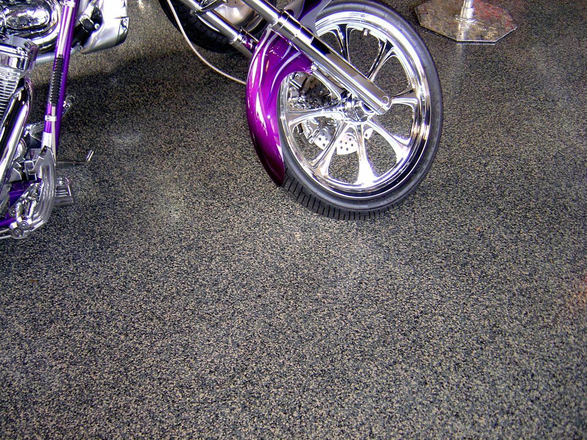 garage shop floor