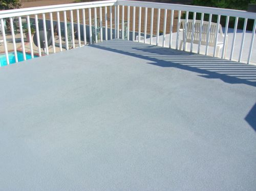 balcony deck before and after