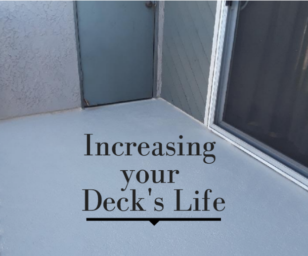 Extending your Deck's Life