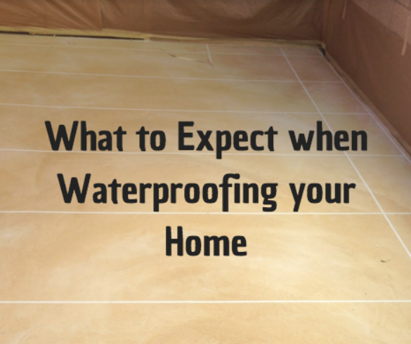 home waterproofing