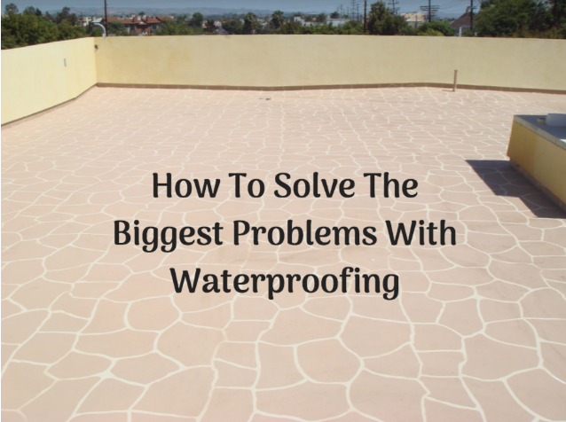 avoiding common home waterproofing issues