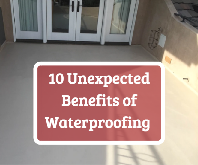 waterproofing benefits