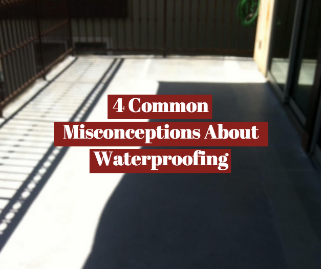 misconceptions about home waterproofing
