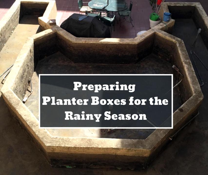 how to prepare a planter box