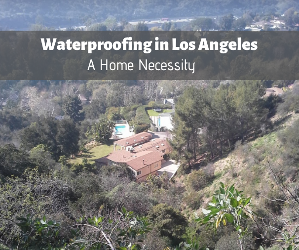 waterproofing deck in LA