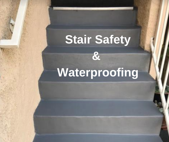 waterproof stairs