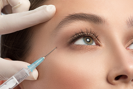 Shofner Vision Center offers BOTOX, upper eye lid surgery