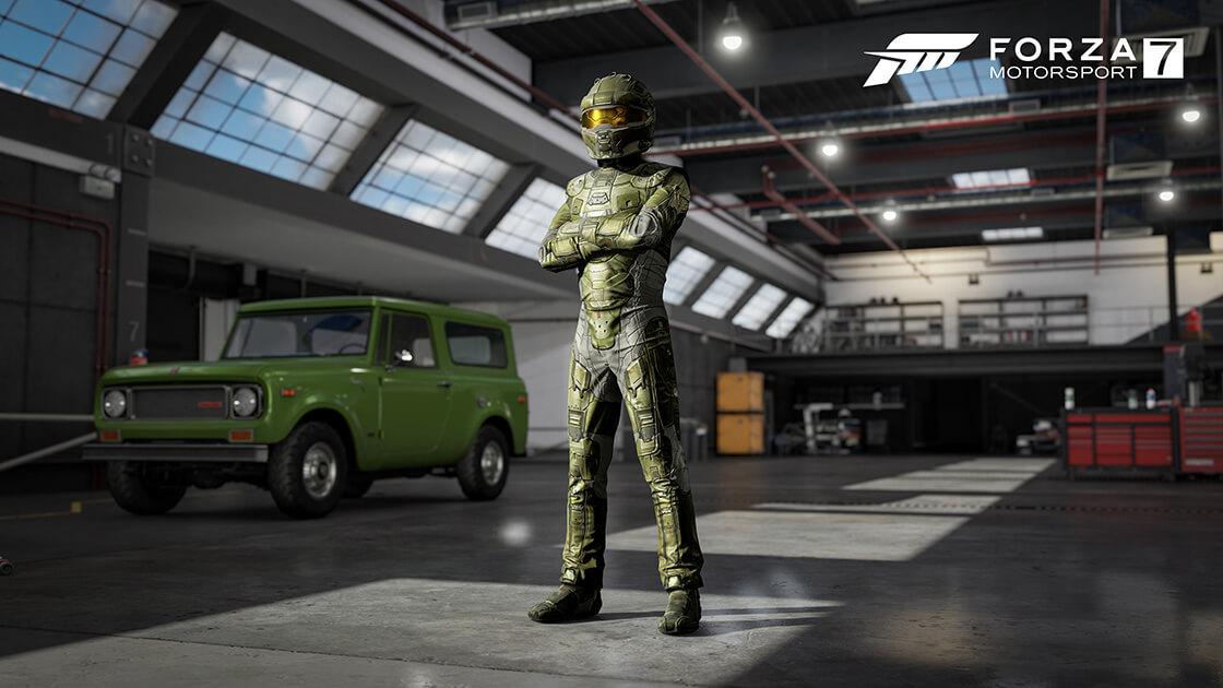 Unlock Halo Driver Gear Suits in Forza Motorsport 7