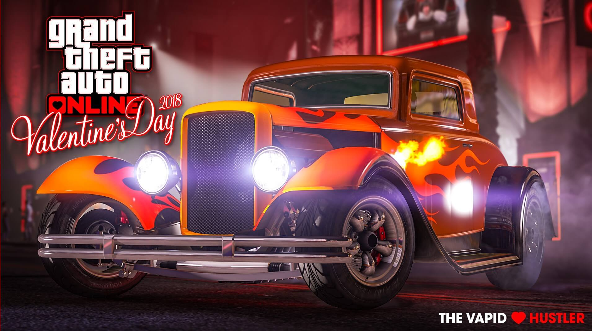 GTA Online Celebrates Valentine\'s Day With New Vapid Hustler and ...