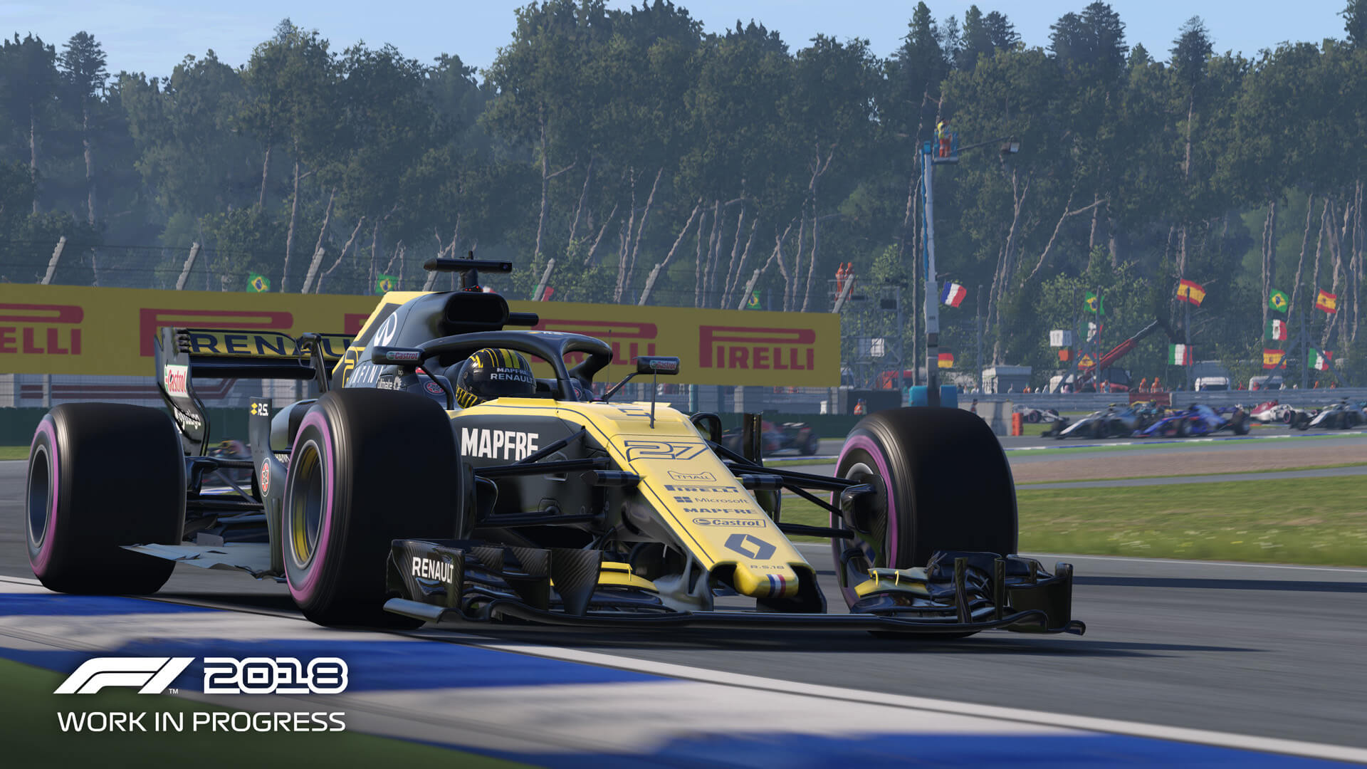 F1 2018 Game Hub – FullThrottle Media