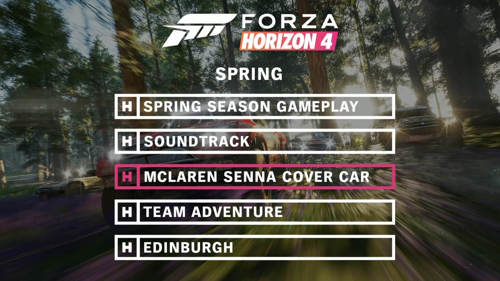 Spring Beauty is in the Air in Forza Horizon 4's Final