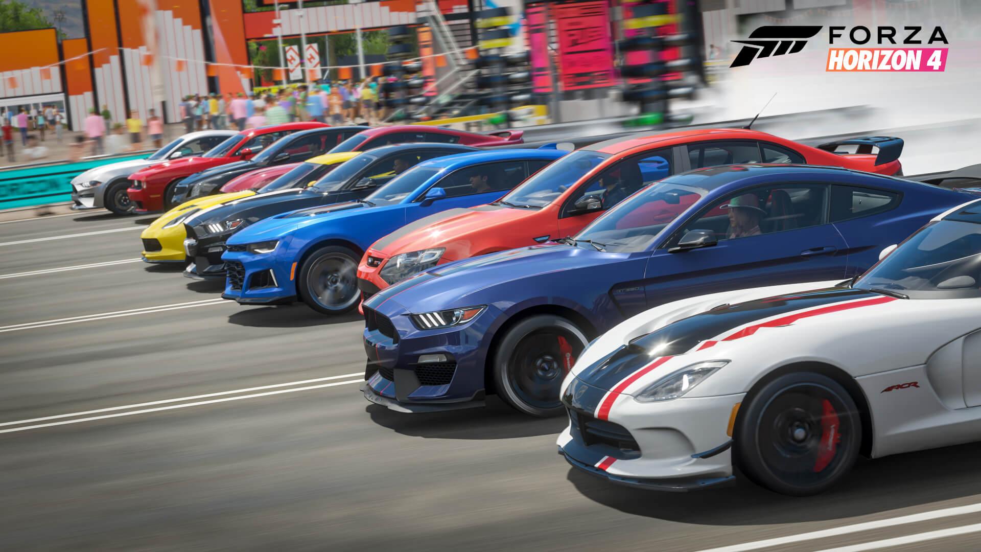 forza edition cars horizon 4