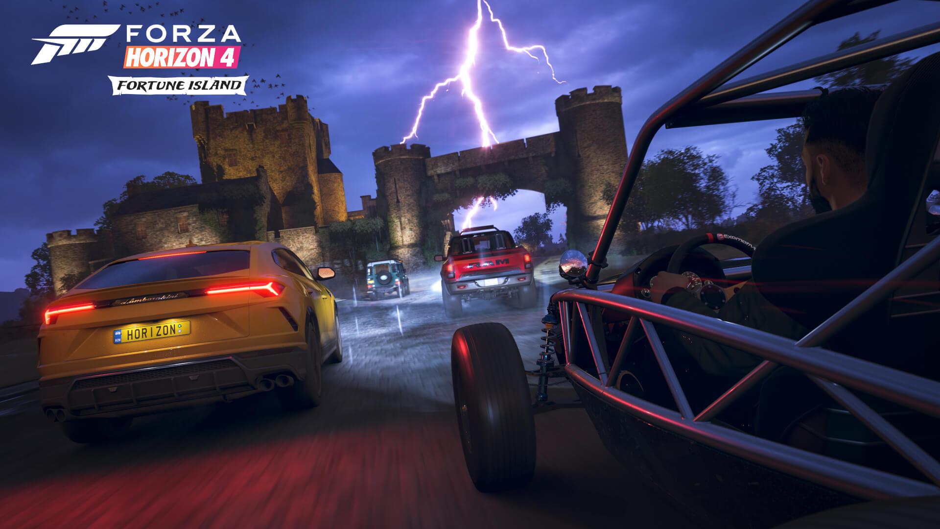Forza Horizon 4 Fortune Island Achievements List