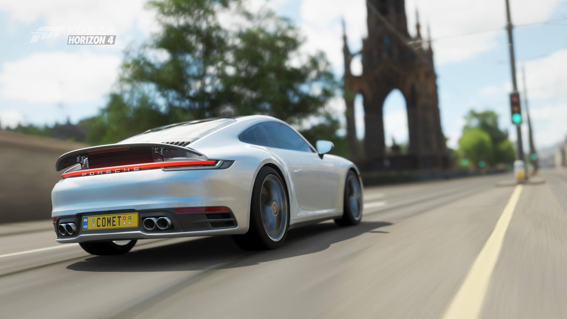Forza Horizon 4's Summer Season Welcomes Porsche's Latest Supercar