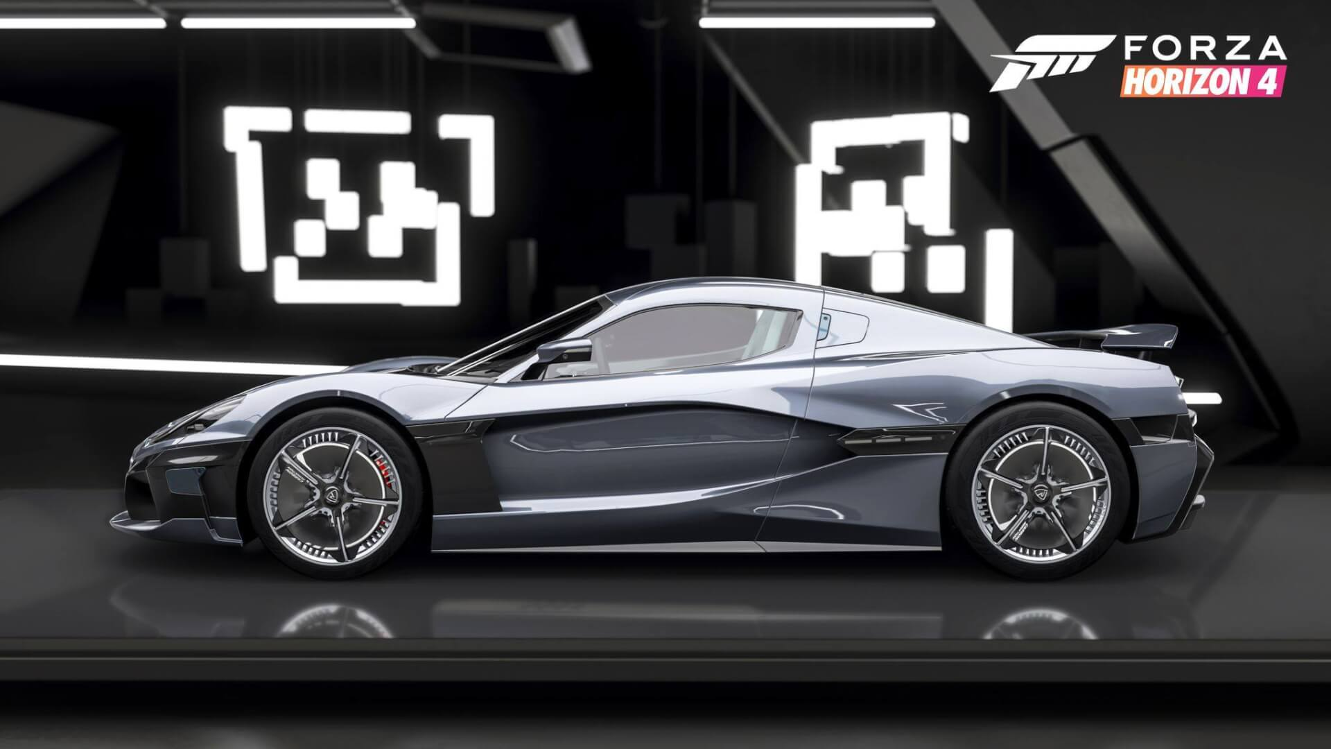 Fh4 Car List forza horizon 4 series 10 introduces all-electric 2019 rimac