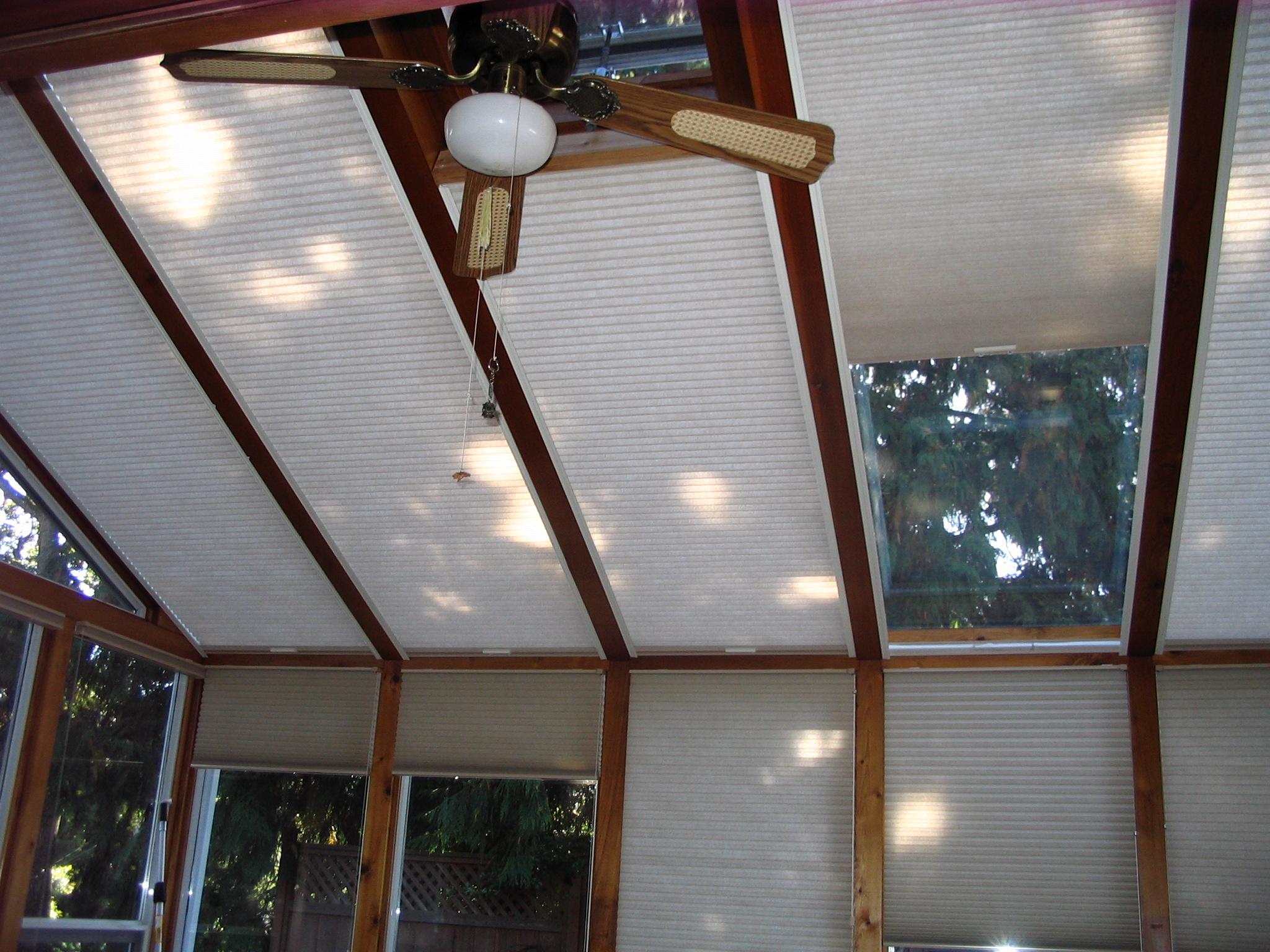 skylight detail cream hinckley blinds honeycombe