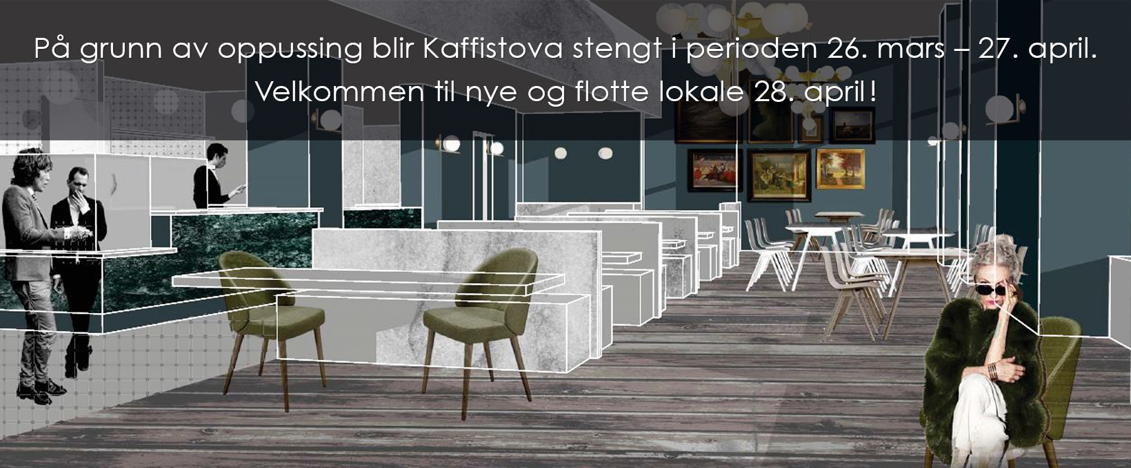 illustrasjon av framtidig lokale