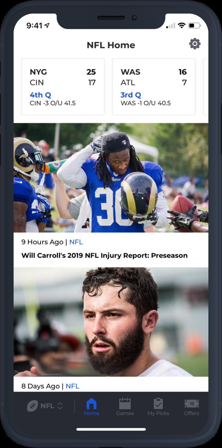 BetQL NFL News