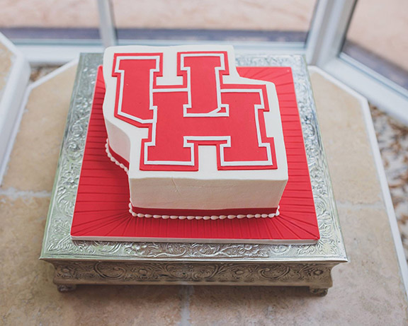 University of Houston Groom's Cake
