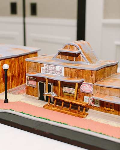 Dixie Chicken Groom's Cake