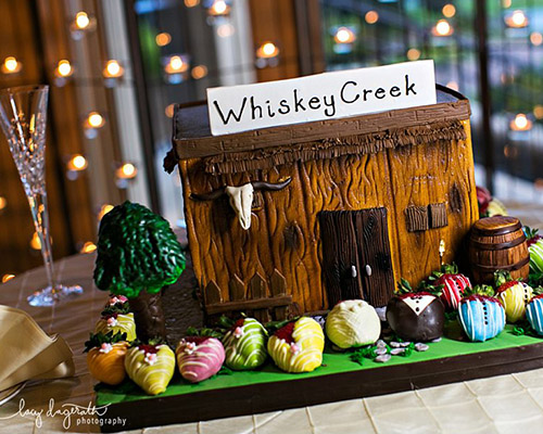 Whiskey Creek Groom's Cake