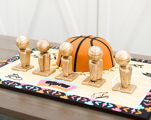 San Antonio Spurs Groom's Cake