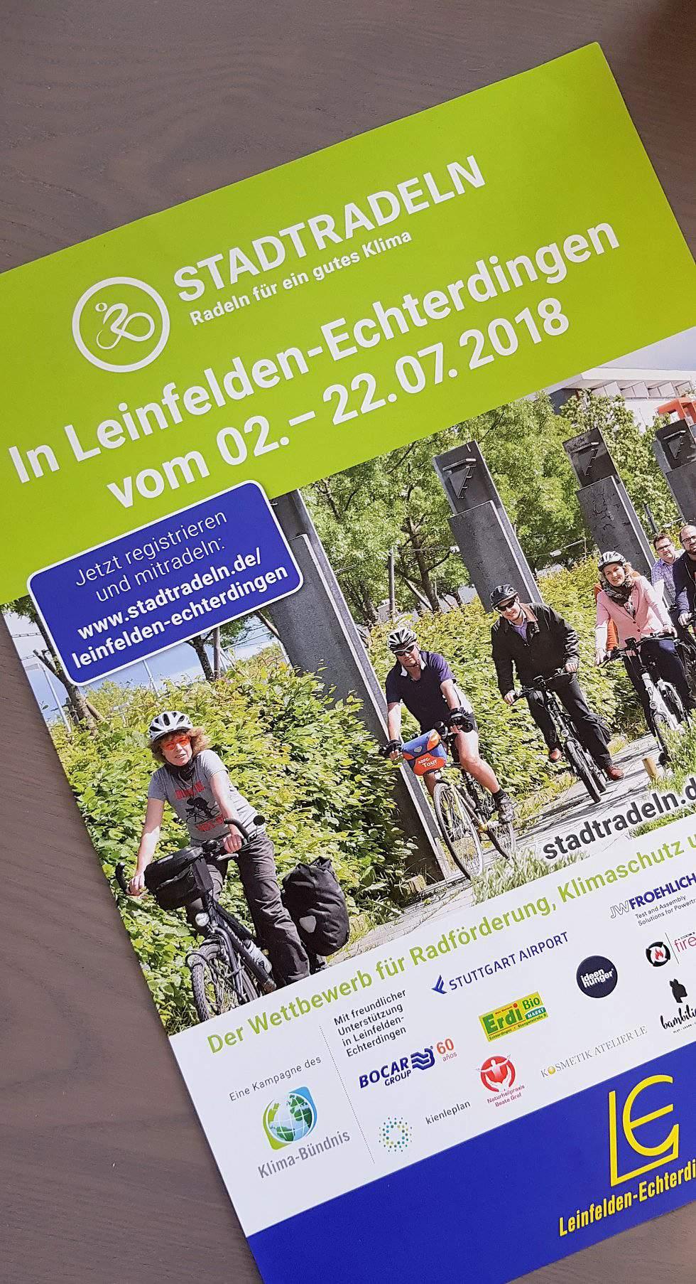 ideenhunger macht beim diesjährigen Stadtradeln in Leinfelden-Echterdingen mit