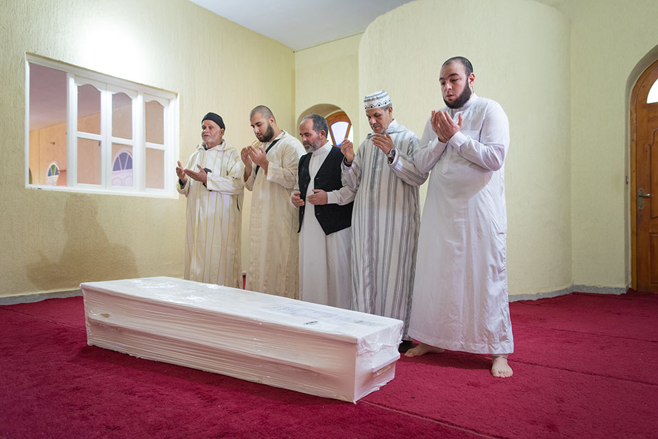 Mohammed Bouchikhi laid to rest in Morocco