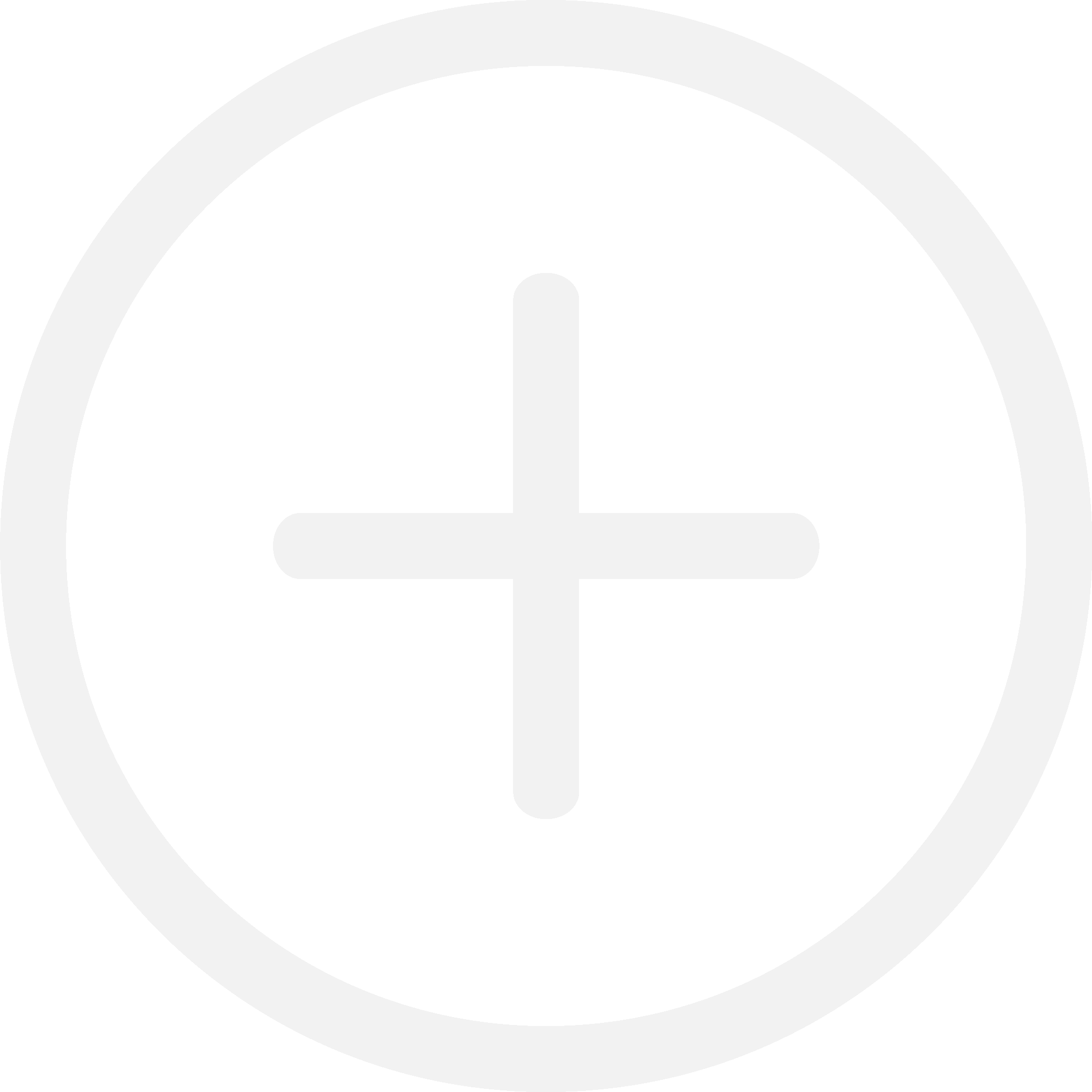 a plus sign surrounded by a circle