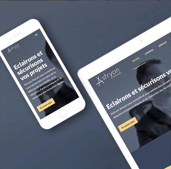 Création Site internet Astryon Avocat