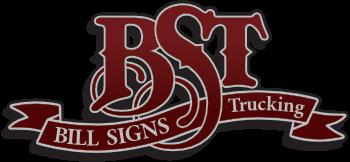 Bill Signs Trucking Logo