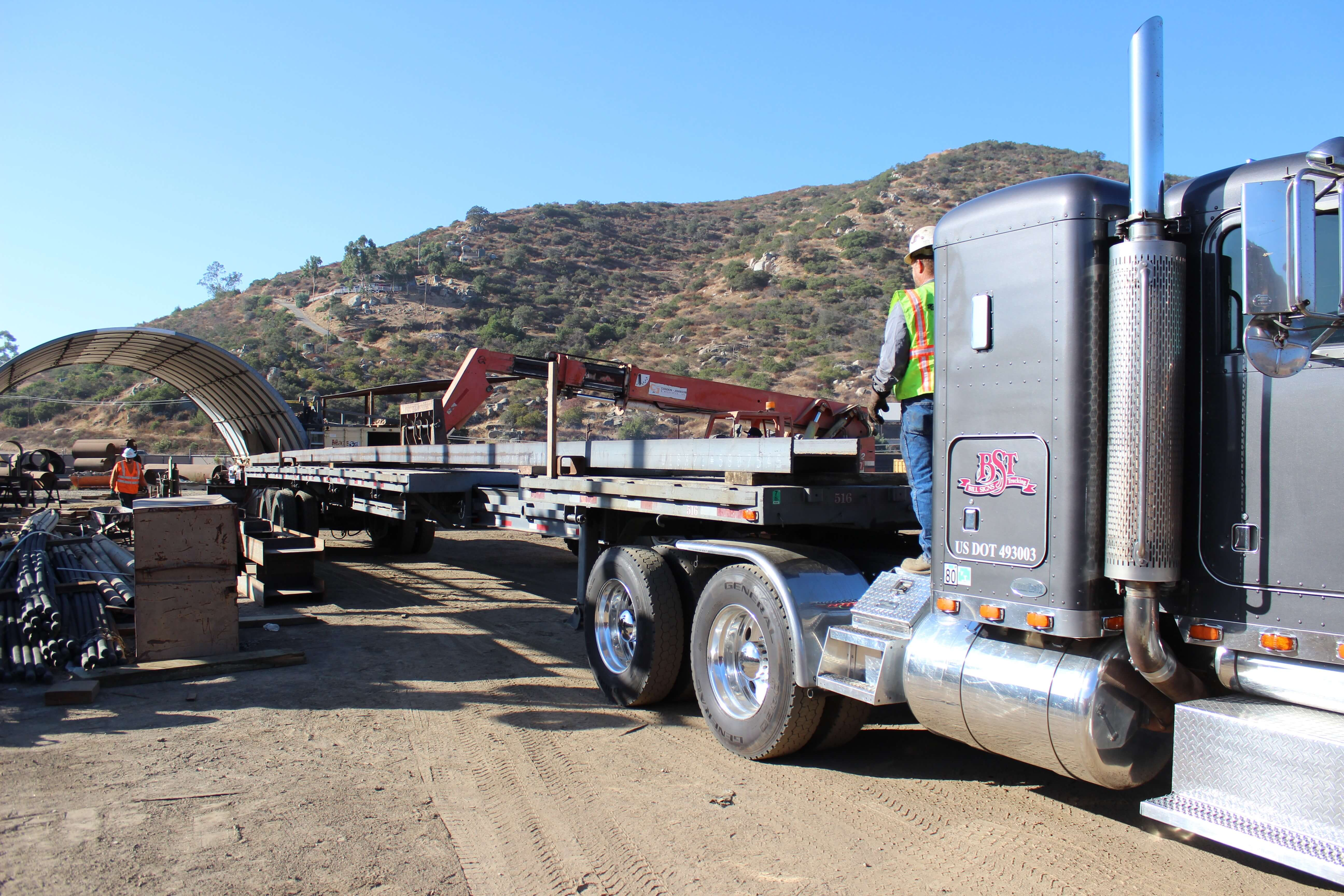 Flatbed Trucking Services