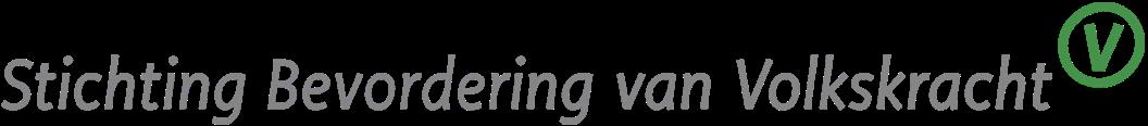 Stichting Bevordering van Volkskracht Logo