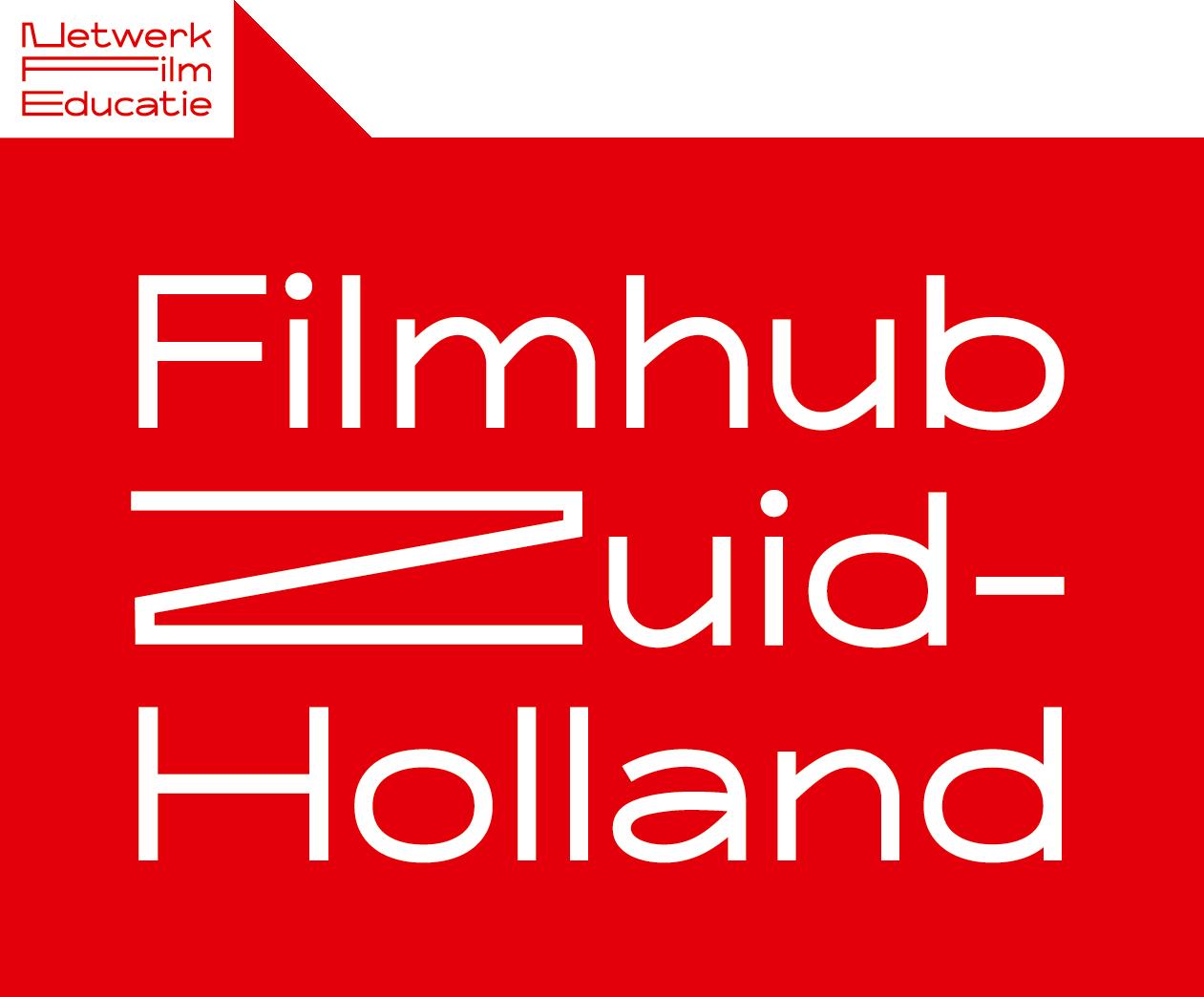 Logo Netwerk film educatie Filmhub Zuid-Holland