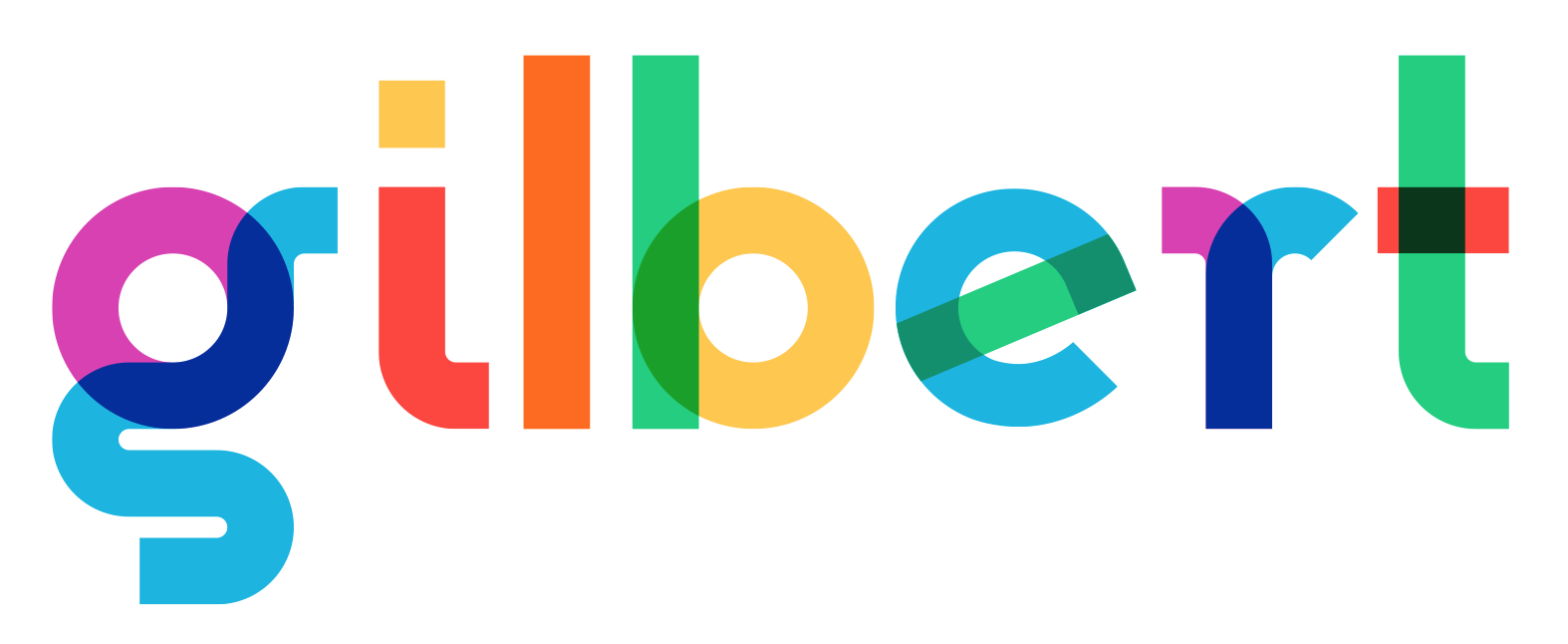 Gilbert Color, a font made with Fontself