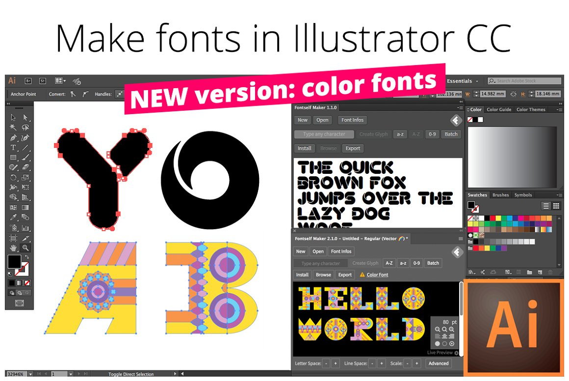 Fontself Maker for Illustrator CC