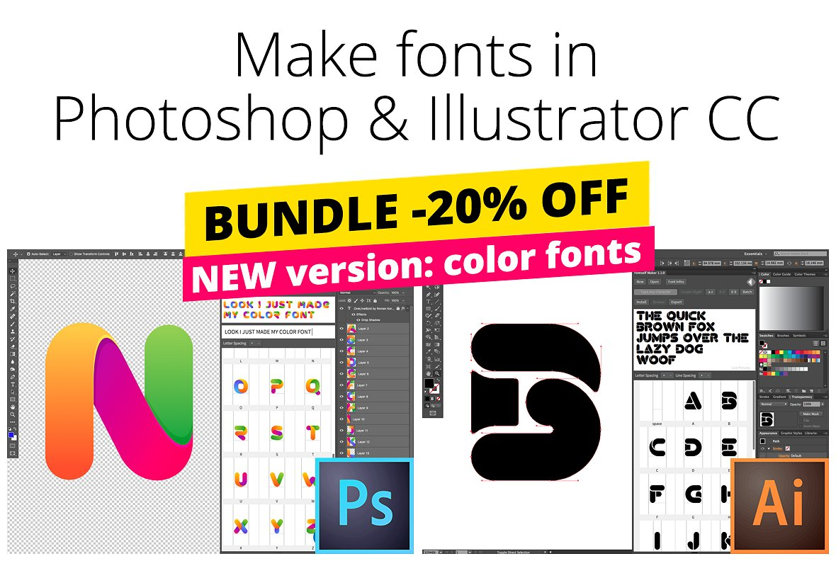 Fontself Maker for Photoshop CC