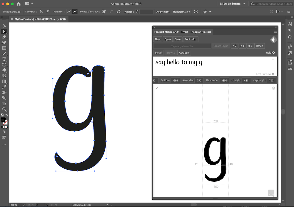 How to create your font