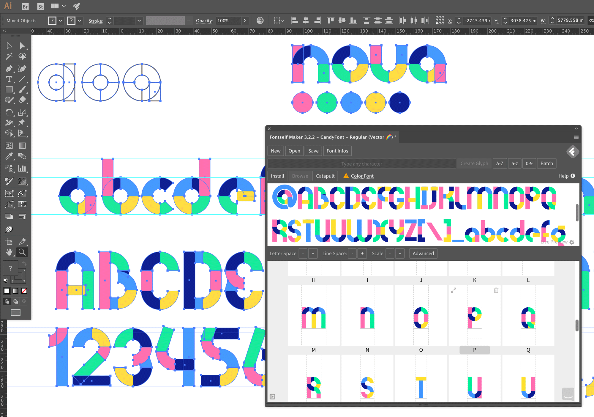 Discover how to create Color fonts