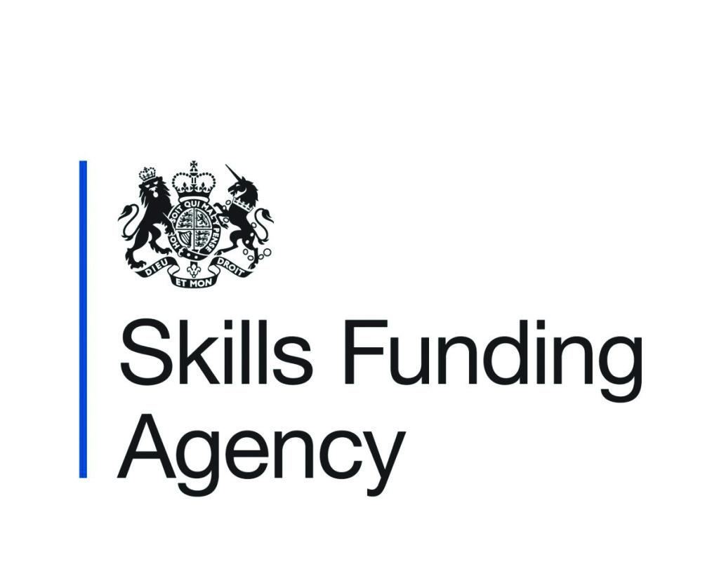 Skills Funding Agency fund skills training for further education