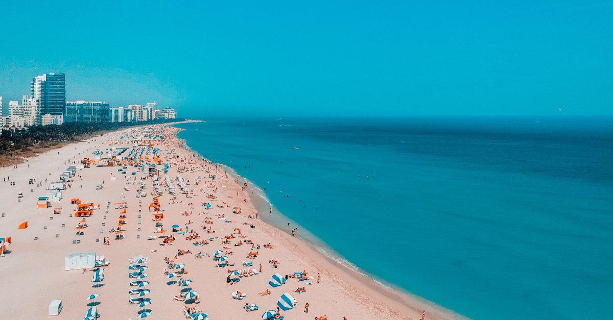 Photo of Miami beach in Florida