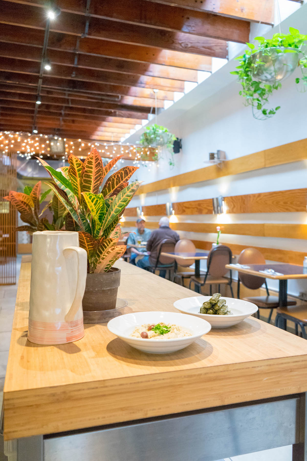 Ali Baba restaurant indoor seating