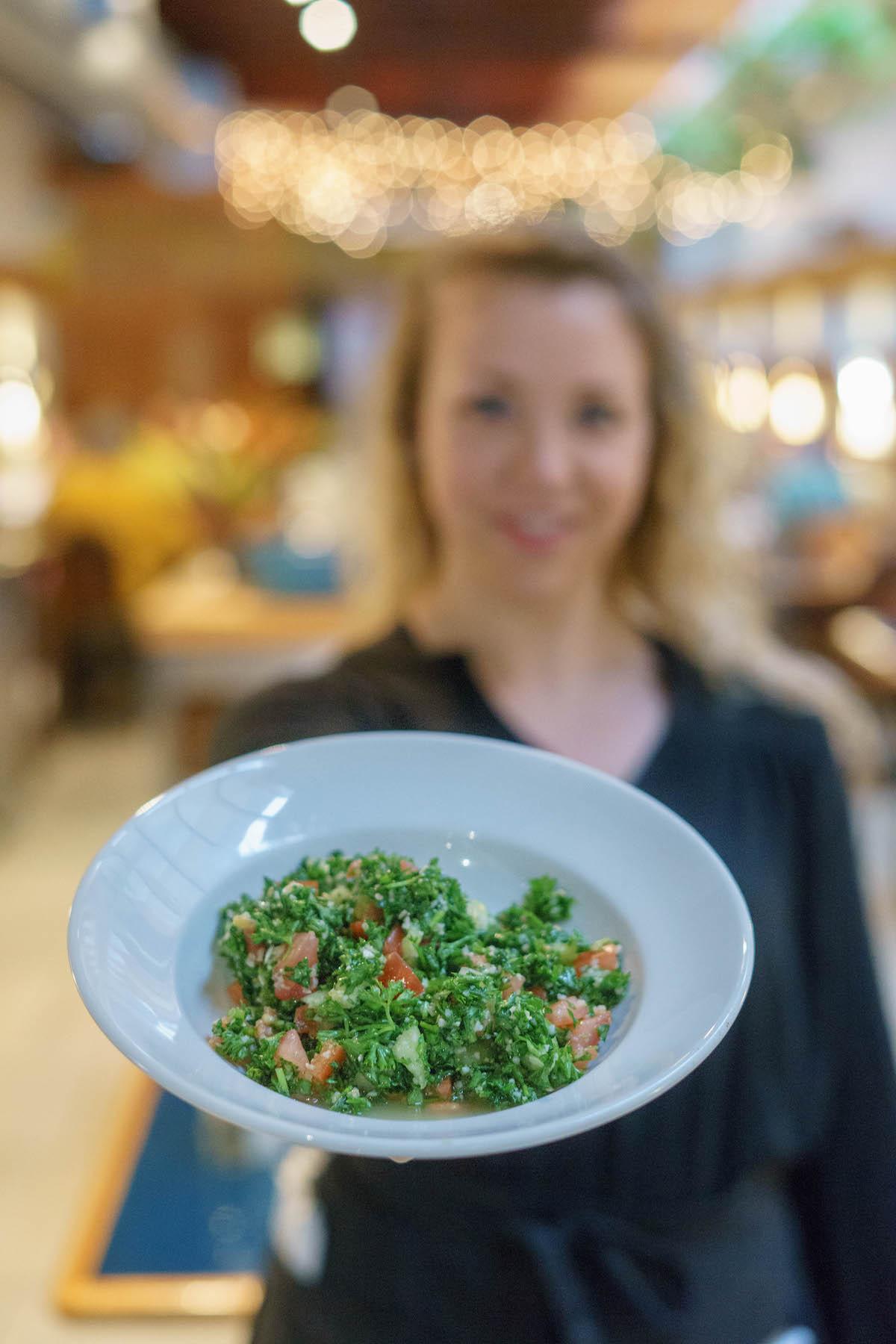 Photo of Tabooli vegan dish