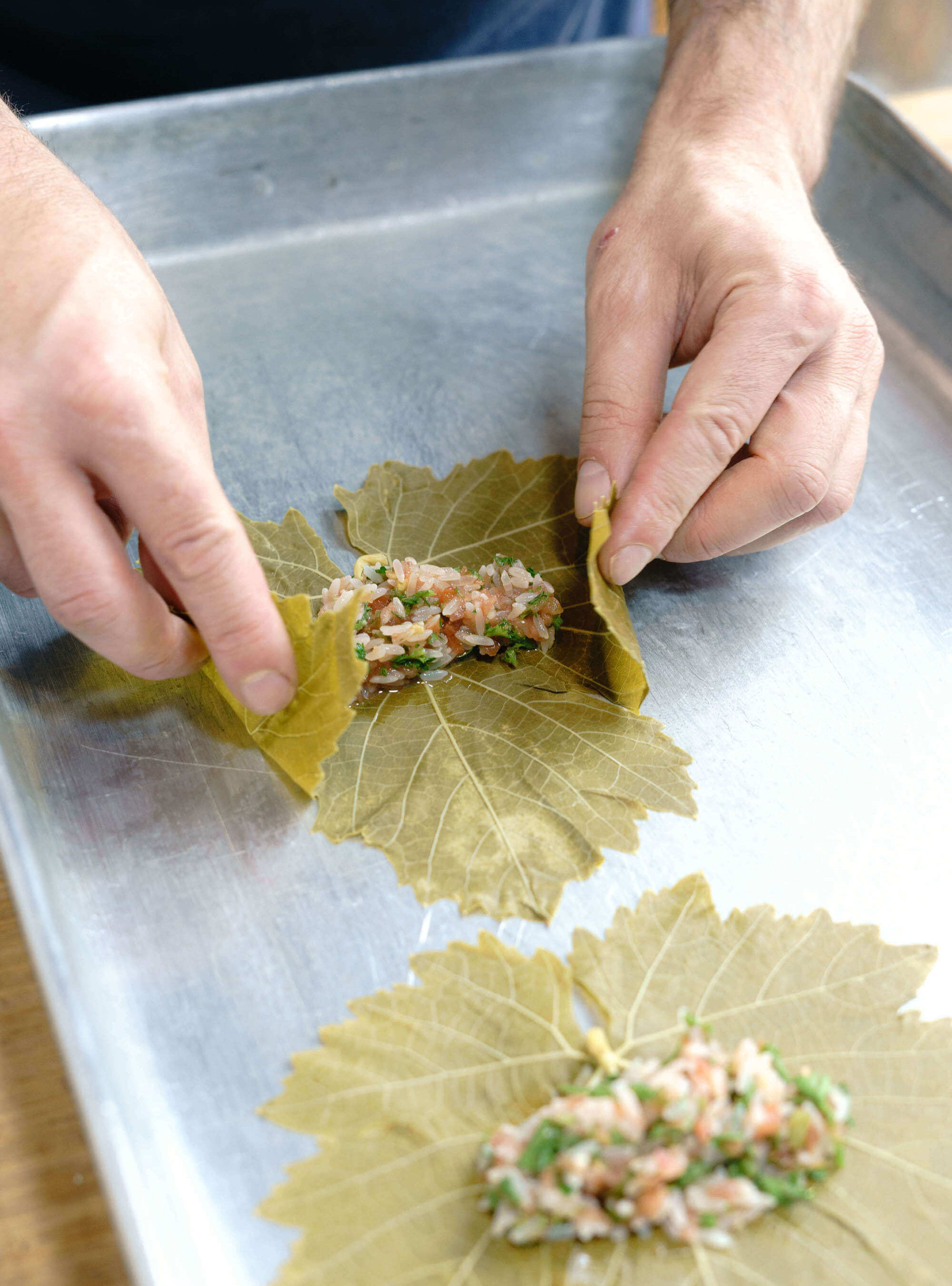 Authentic Syrian Grape Leaves
