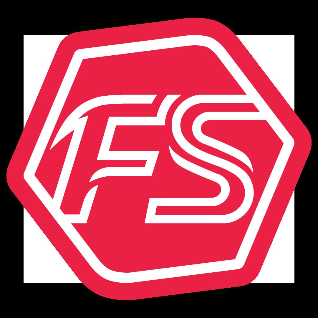 White Fitstop Logo