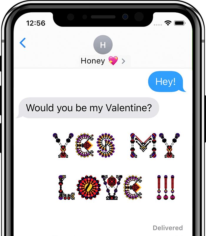 The iOS Fontself App