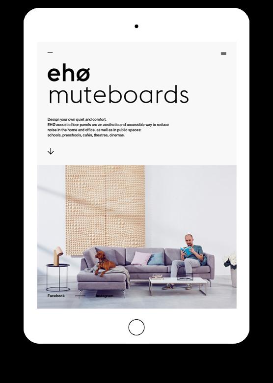 Eho Muteboards by Maciej Mach - UI/UX designer / Poland / Poznań